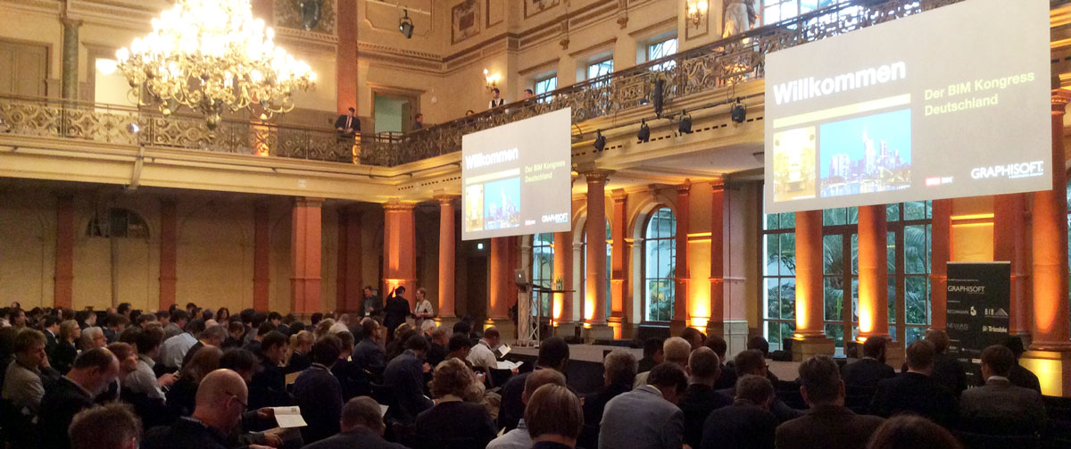 BIM Kongress 2015 in Frankfurt