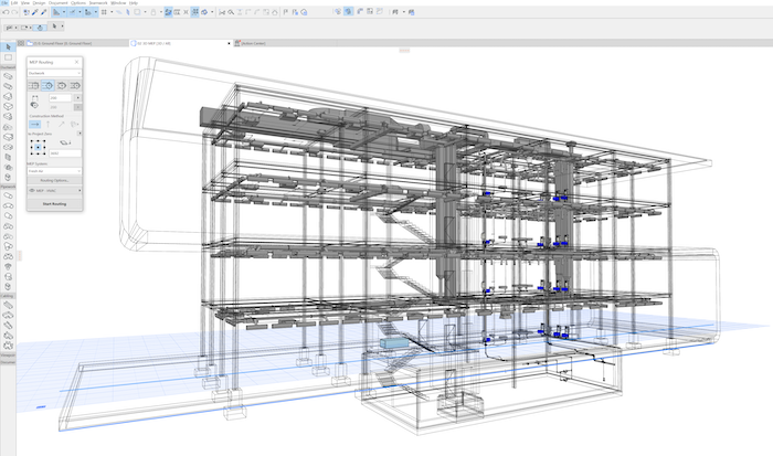 Gebäudetechnik planen.